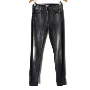 MOTHER The Looker High Rise Gray Deep Voodoo Jeans